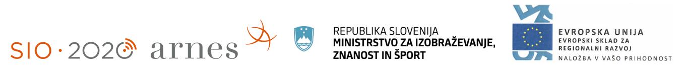 Ministrstvo za izobraževanje, znanost in šport - Evropski sklad za regionalni razvoj